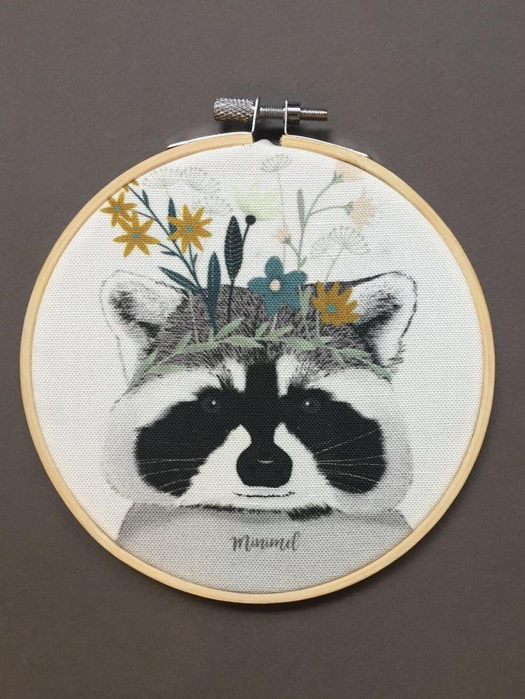 Cadre Racoon / Raccoon frame Minimel