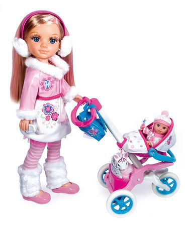 Take a look at this Nancy Strolling Doll & Accessory Set by Nancy on #zulily today!: Doll Accessories, Sisters, Sweet, Dolls, Pet, Sister Strolling, Strolling Set