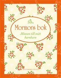 Den perfekta presentboken som glädjer hela familjen!Hur var det egentligen på mormors tid? Vad tyckte hon om att göra som barn? Vad lekte hon med? Gick hon på dagis? Vem var hennes bästa vän? Var hennes lärare snäll? Hur träffades hon och morfar? Vad gjorde mormor innan hon blev mormor?Det här är boken som gör det lätt att minnas! I boken får mormor skriva ned sina egna personliga minnen och klistra in foton och annat som gör att kommande generationer alltid kan komma de äldre nära, också då…