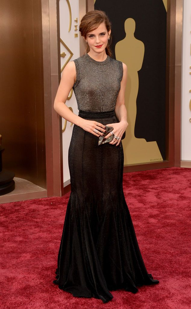 Emma Watson goes glam in Vera Wang for the Oscars red carpet!