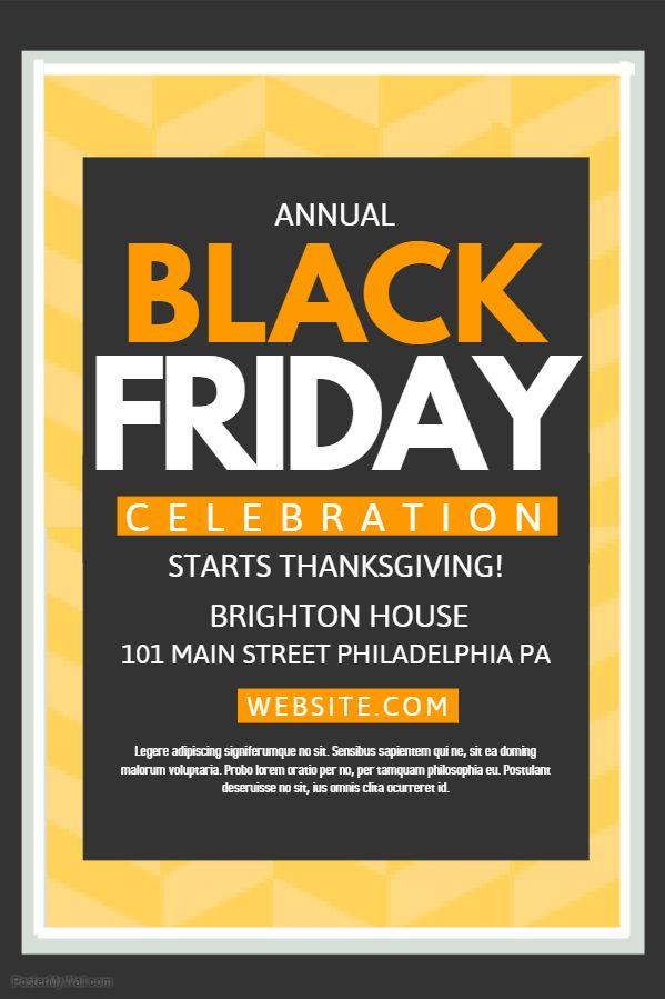 44 best Black Friday Flyer Templates images on Pinterest - black flyer template