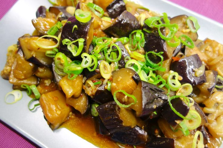 Fiskdoftande aubergine