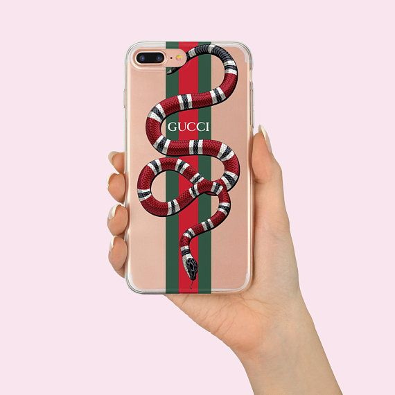 promo code aec64 aba9a Gucci iPhone X case red snake iPhone 8 plus Case Gucci snake ...