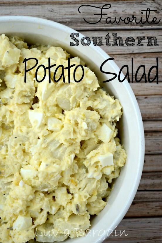 Favorite Southern Potato Salad - just like my grandmother used to make :-)
