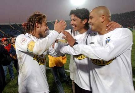 "3 ídolos: Jorge ""mago"" Valdivia, Matías ""matigol"" Fernández y Humberto ""chupete"" Suazo"