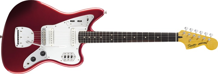 Vintage Modified Jaguar®, Rosewood Fingerboard, Candy Apple Red