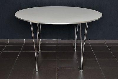 Piet Hein Tisch D.120cm Fritz Hansen Made in Denmark dining table B625