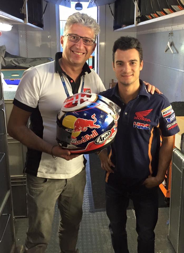 Roby & Dani Pedrosa - Valencia 2015