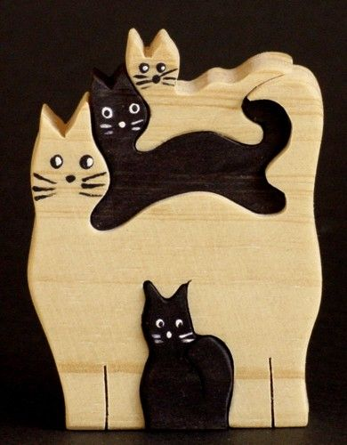 tabla en forma de gatito manualidades, gatos , brujas... - Página 6
