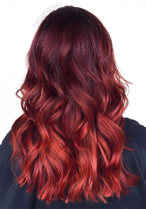 Best 20+ Red hair shades ideas on Pinterest | Shades of red hair ...