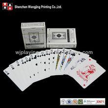 Diseño personalizado tarjetas de juego casino, casino juego de cartas