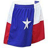 Cheap BOA Men's Baggy Running Short US Flag/American Flag/Texas Flag(1510P)