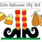 Cute Halloween Clip Art ~ This precious Halloween clip art can be