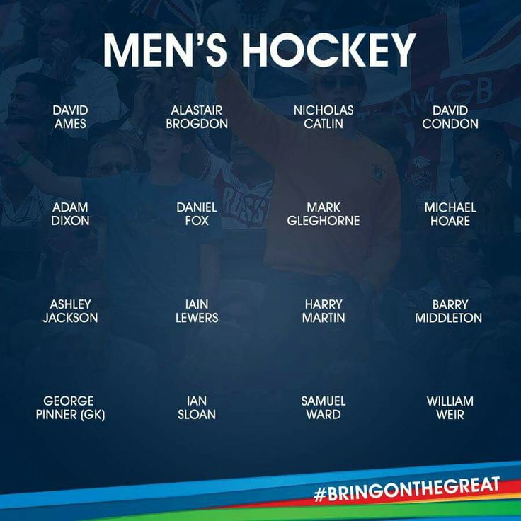 Men's Hockey- Team GB- Rio 2016
