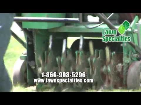 Lawn Specialties: Core Aeration