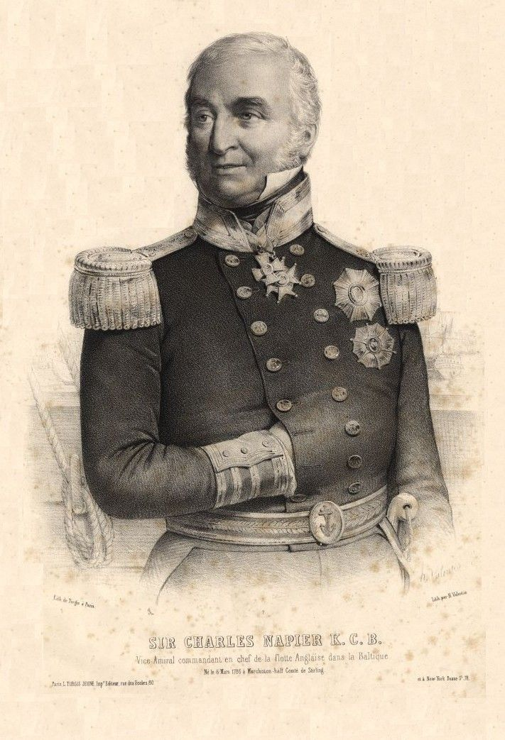 Admiral Sir Charles Napier - Charles Napier (Royal Navy officer) - Wikipedia, the free encyclopedia