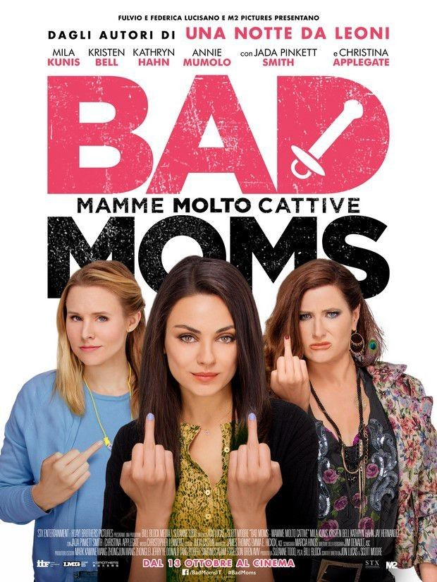 Bad Moms mamme molto cattive streaming film