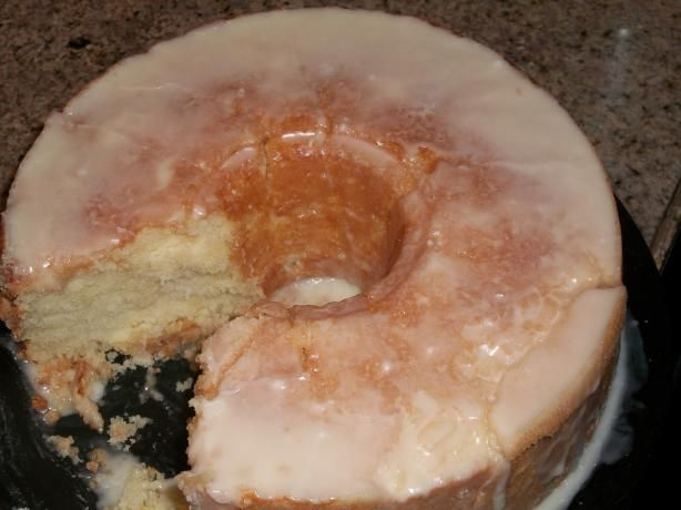 Vanilla Almond Glaze Recipe for Louisiana Crunch Cake  - Food.com - 443319 TwinGodesses