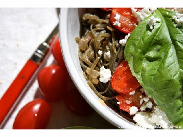 Massa de Urtiga com Ricotta e Tomate Cereja   Nettle Pasta with Ricotta and Cherry Tomatoes