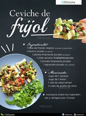 Hábitos Health Coaching | CEVICHE DE FRIJOL