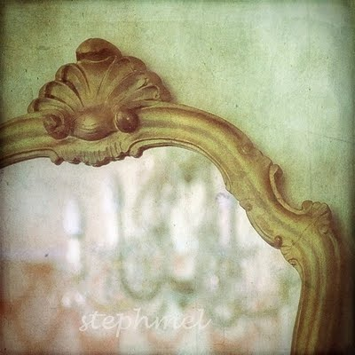 photo of a beautiful mirror by Stephania Dapolla