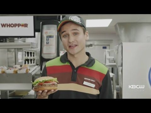 Burger King Whopper Ad Hijacks 'Okay Google' - YouTube