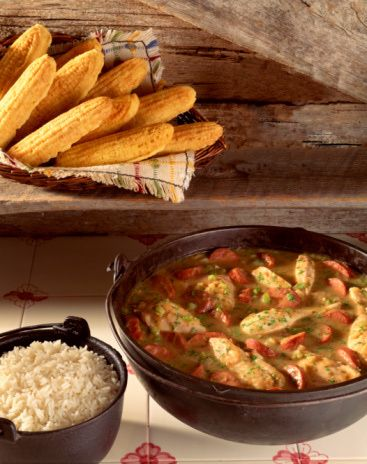 Chicken and Sausage Gumbo Recipe, Slow Cooker