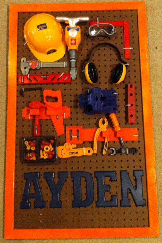Construction Theme Nursery Decor DIY