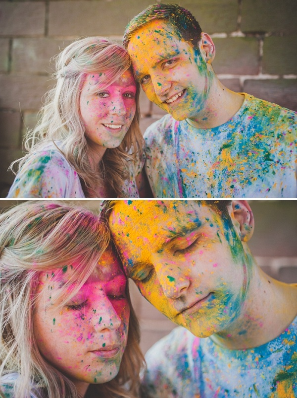 A Powder Paint Fight Engagement