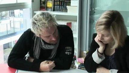 Le Bouquinovore: Documentaire sur Henri Loevenbruck- Dans la peau d'un écrivain