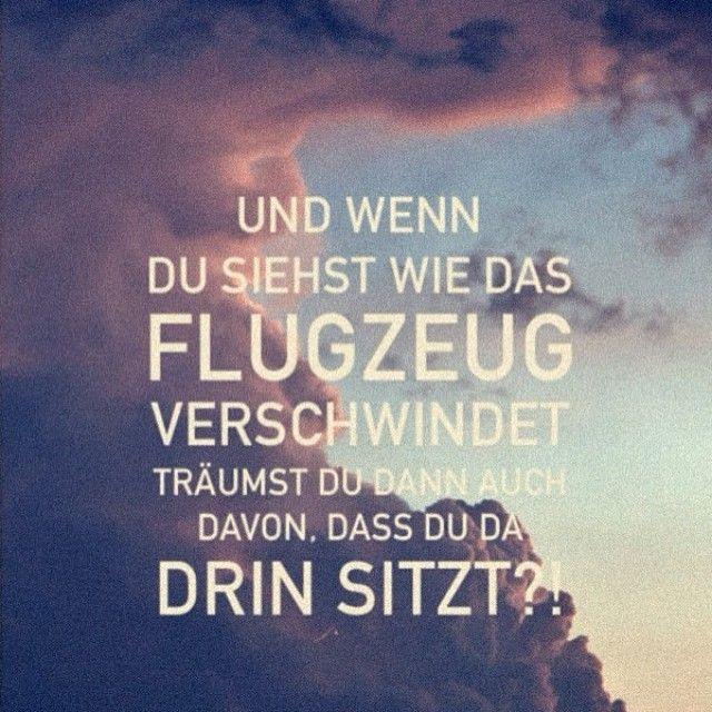 Und wenn Du siehts wie das Flugzeug verschwindet, träumst Du dann auch, dass Du da drin sitzt?! Jetzt Urlaub buchen bei www.fitreisen.de