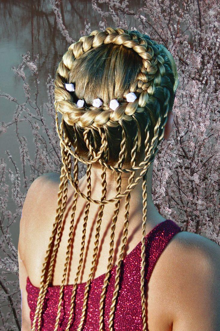 117 best renaissance hair images on pinterest | hairstyles, braids