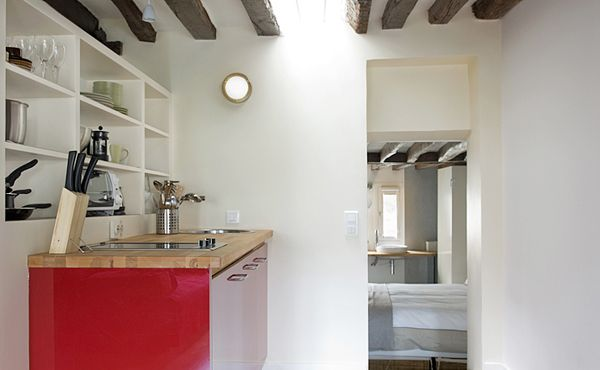 Two apartments in Saint-Germain Paris (F), 2005 by BEMaa - www.bemaa.it