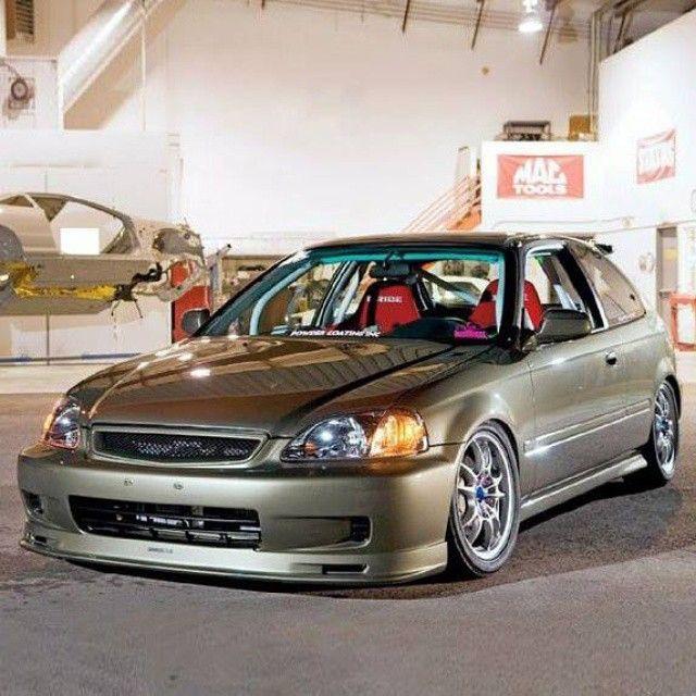 1996 Honda Civic Via Honda Tuning!