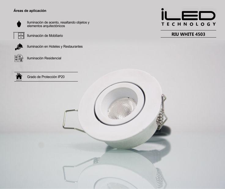 #LaCaja3X3X3 Riu White/Silver 4503 #iluminacion #lovelighting