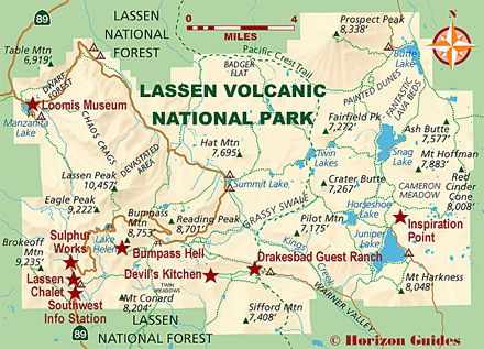 Explore california national parks travel guide lodging for Lassen volcanic national park cabins