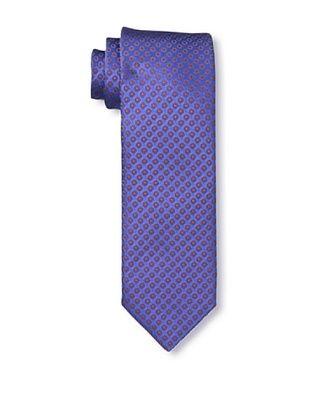 61% OFF Massimo Bizzocchi Men's Circles Tie, Purple