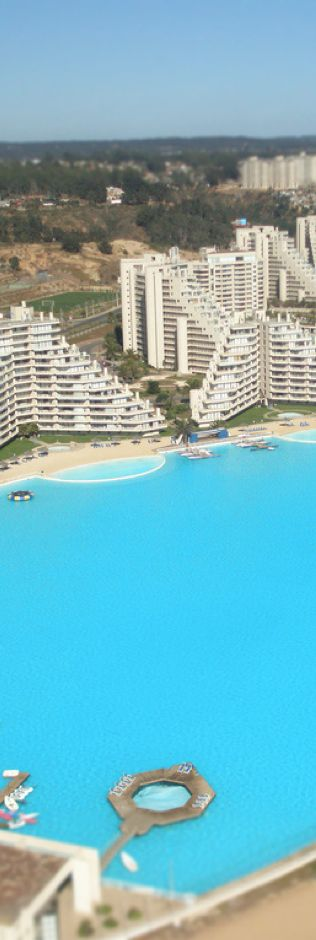 San Alfonso del Mar Resort, Chile....largest pool in the world | LOLO