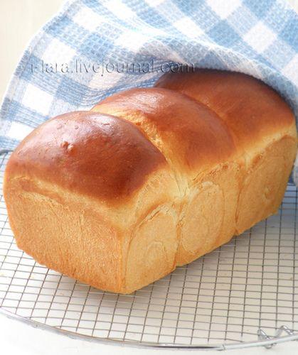 МОЛОЧНЫЙ ХЛЕБ (Hokkaido Milk Loaf) Мне всегда почему-то казалось, что японцы хлеба почти не едят. Рыбу, морепродукты, сою, рис – да. А хлеб японцев, думала я, это наверняка…
