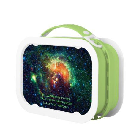 Tadpole Nebula Auriga Constellation outer space Lunch Box: click/tap to buy