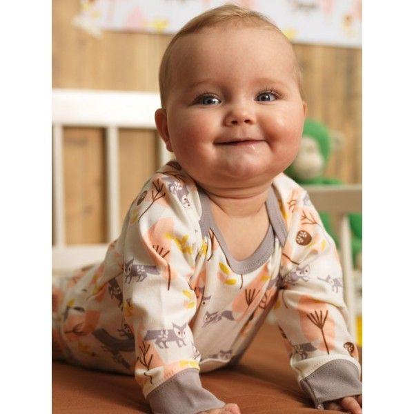 #Baby #Pyjama #Fox #pink - Feet #nursery #kidsfashion #littlethingz2