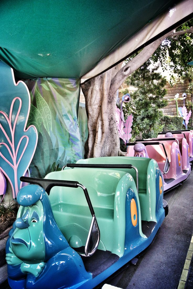 Alice In Wonderland ride at Disneyland. One of my all time favorite rides at Disneyland.