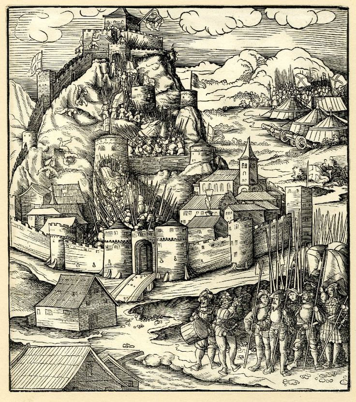 Inspirational Artist Beck Leonhard TItle The fortress of Monselice Date ca