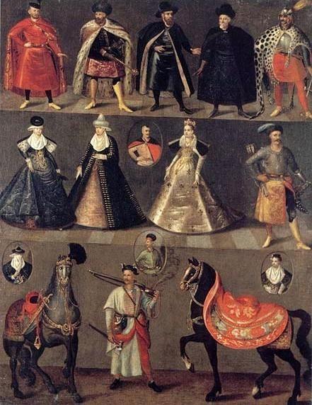 "jeannepompadour:  ""Tablica gołuchowska"", c. 1620 Poland"