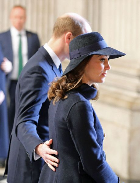 Kate Middleton Photos - Prince William, Duke of Cambridge and Catherine, Duchess of Cambridge leave the Grenfell Tower National Memorial Service held at St Paul's Cathedral on December 14, 2017 in London, England. The Royal Family and Prime Minister joined survivors of the Grenfell Tower at the memorial at St Paul's Cathedral for the six-month anniversary which killed 71 people. About 1,500 people are expected to attend the multi-faith service. - Grenfell Tower National Memorial Service