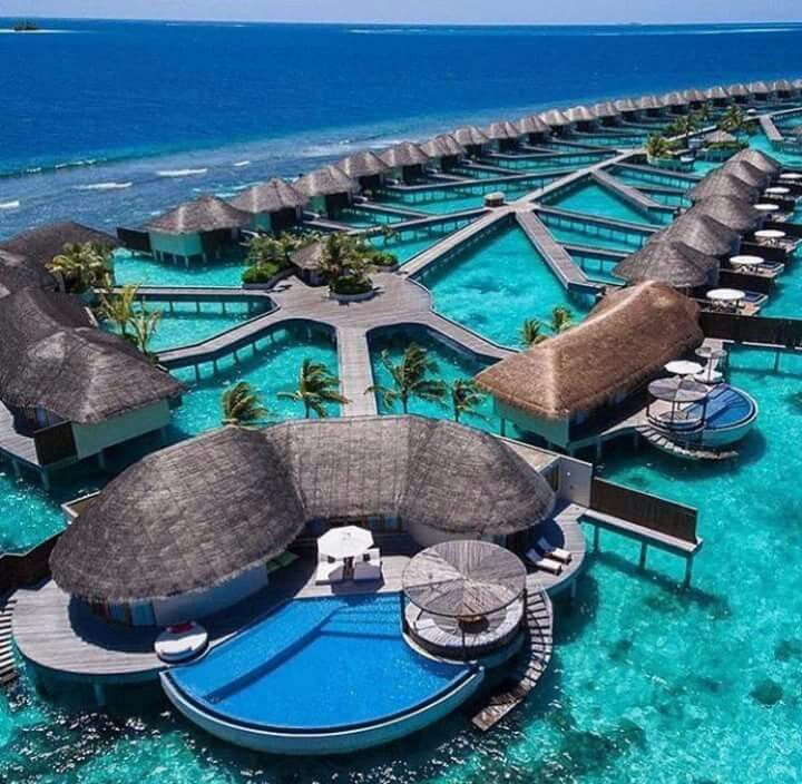 Meanwhile in the Maldives Oh how it