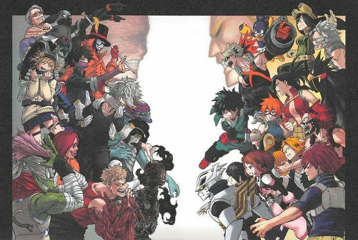 Heroes Vs Villains Mha My Hero Academia Tsuyu My Hero Academia Shouto My Hero