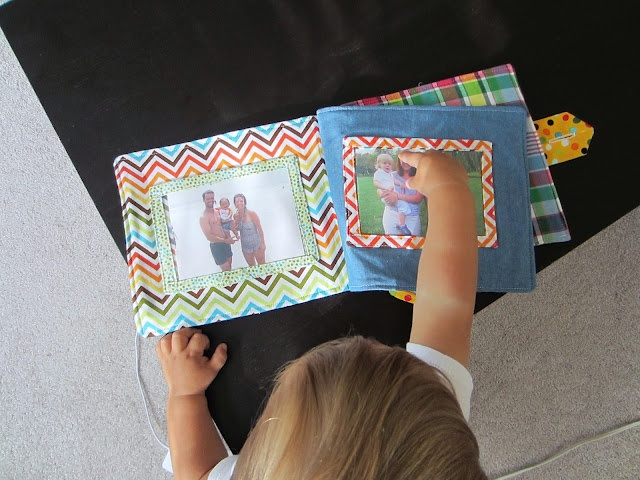 sewBOLD: Baby Photo Album. Wish I had time to make one of these for George.