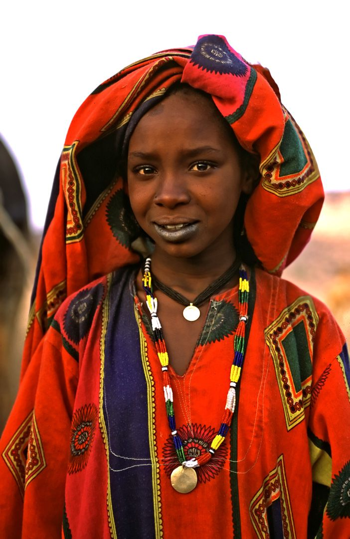 Toubou tribal people ancient Garamante Niger/Chad.Africa.