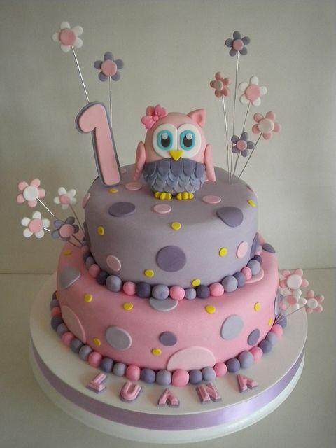 torta lechuza flickr intercambio de fotos